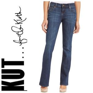 Kut From The Kloth Natalie Bootcut Sz 8 Dark Wash